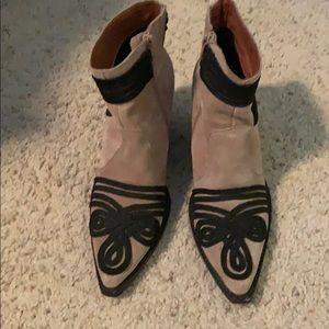 Jeffery Campbell Booties Size 8
